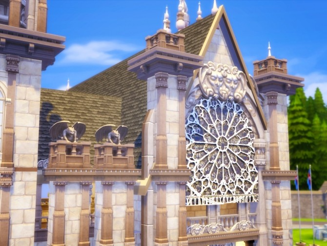 St. Bunnie's Cathedral at Akai Sims image 2252 670x504 Sims 4 Updates