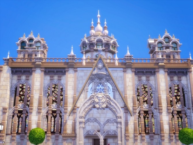 St. Bunnie's Cathedral at Akai Sims image 2263 670x504 Sims 4 Updates