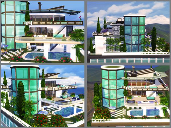 Sky Tower apartment by Danuta720 at TSR image 2319 Sims 4 Updates
