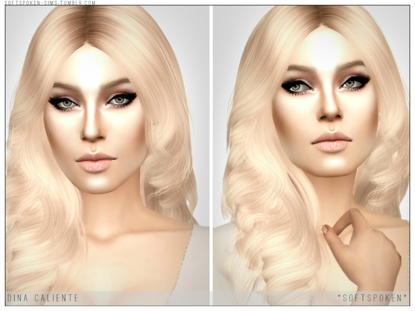 Dina Caliente by Softspoken at TSR image 2325 Sims 4 Updates