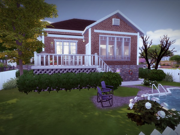 Split Level House by melcastro91 at TSR image 2328 Sims 4 Updates