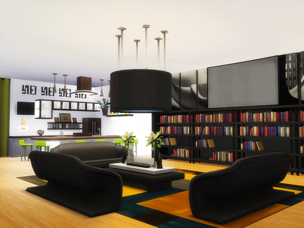 Sky Tower apartment by Danuta720 at TSR image 2417 Sims 4 Updates