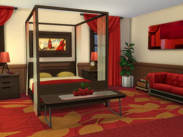 Sims 4 English Ivy house No CC by sharon337 at TSR