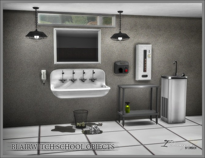 Blairwitch School Objects (new meshes) at Daer0n – Sims 4 Designs image 2421 670x516 Sims 4 Updates