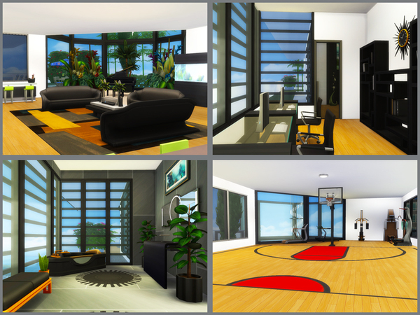 Sky Tower apartment by Danuta720 at TSR image 2518 Sims 4 Updates
