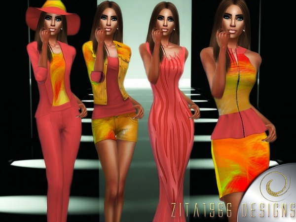 Sims 4 Summer Collection by ZitaRossouw at TSR