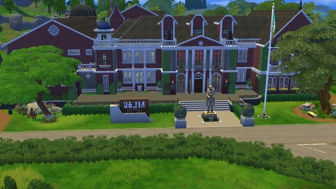 Academy du Sim Elite High School with Maze by Madam Hyjinks at Mod The Sims image 2631 670x377 Sims 4 Updates