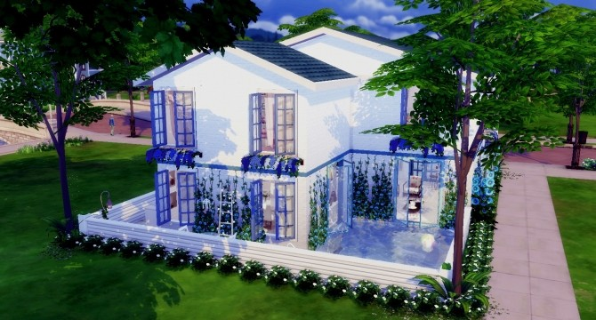 Sims 4 Small Family House at Lily Sims