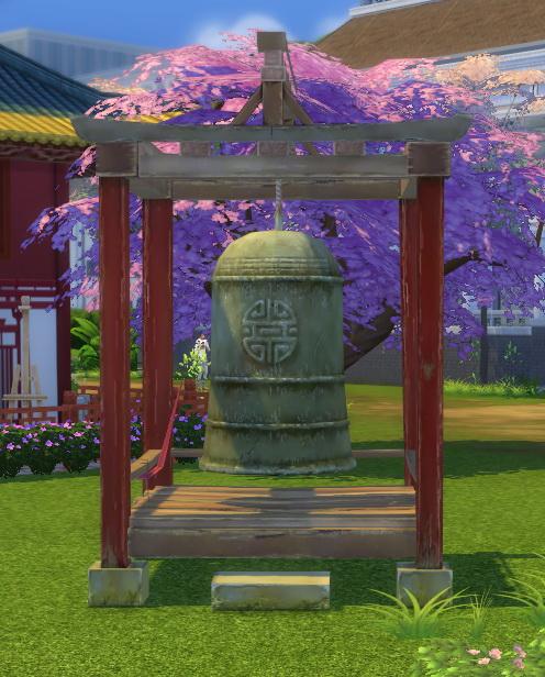 Titan Quest Orient Set Dress Bell by BigUglyHag at SimsWorkshop image 2721 Sims 4 Updates