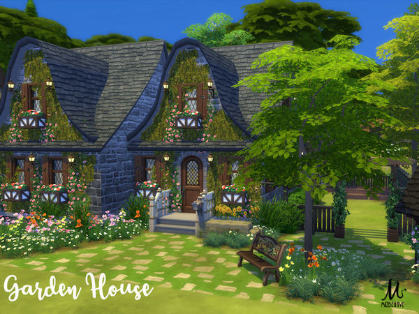 Garden House by MizBehave at TSR image 2817 Sims 4 Updates