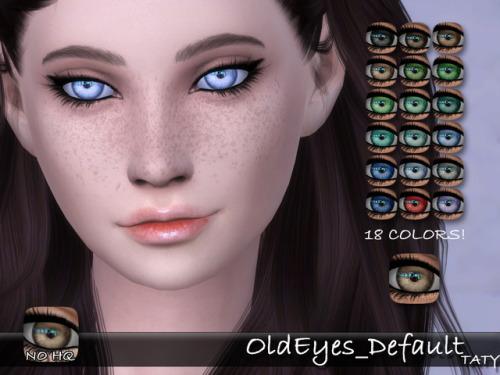 Old eyes default at Taty – Eámanë Palantír image 2831 Sims 4 Updates