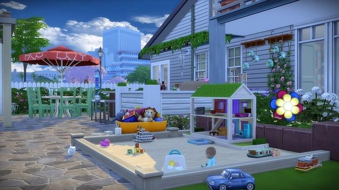 Parents House no CC at Frau Engel image 285 670x377 Sims 4 Updates