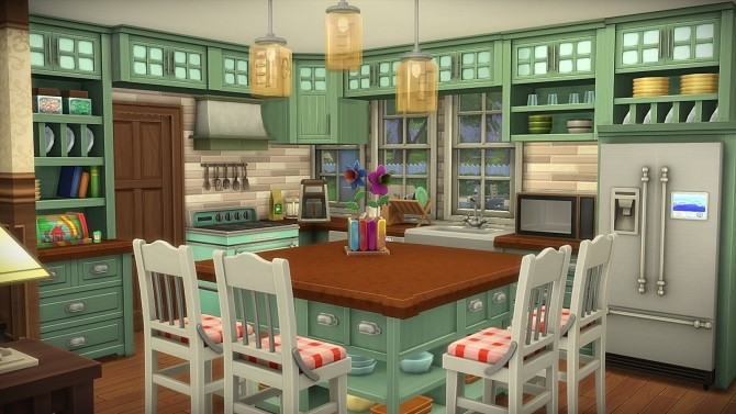 Parents House no CC at Frau Engel image 288 670x377 Sims 4 Updates