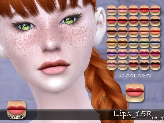 Sims 4 Lips 158 at Taty – Eámanë Palantír