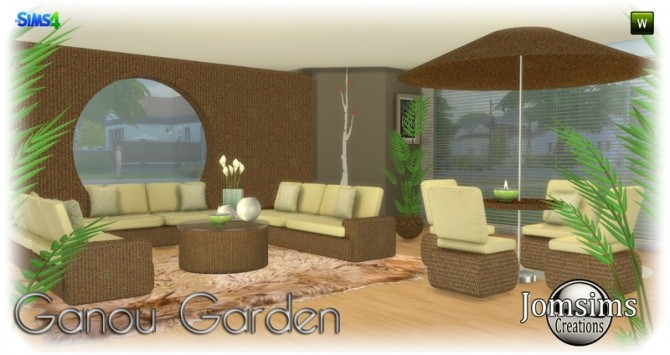 Ganou Garden set at Jomsims Creations image 290 670x355 Sims 4 Updates