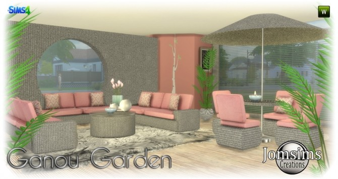 Ganou Garden set at Jomsims Creations image 2911 670x355 Sims 4 Updates