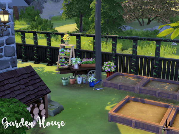 Garden House by MizBehave at TSR image 2917 Sims 4 Updates