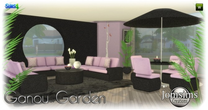 Ganou Garden set at Jomsims Creations image 292 670x355 Sims 4 Updates