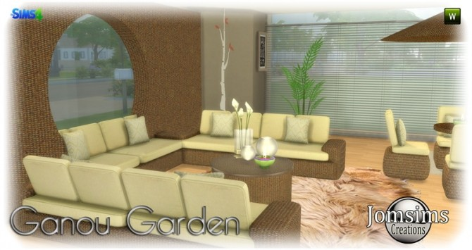 Ganou Garden set at Jomsims Creations image 294 670x355 Sims 4 Updates
