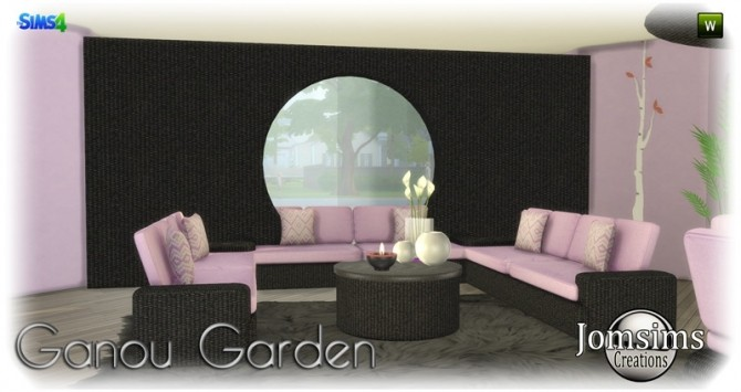 Ganou Garden set at Jomsims Creations image 295 670x355 Sims 4 Updates