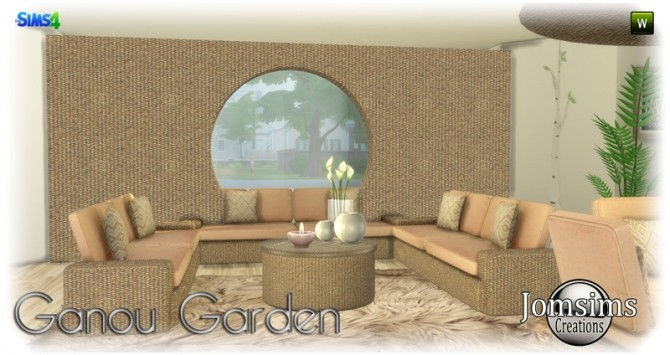 Ganou Garden set at Jomsims Creations image 297 670x355 Sims 4 Updates