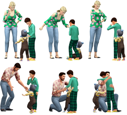 Group Poses #06 at Rinvalee image 299 Sims 4 Updates