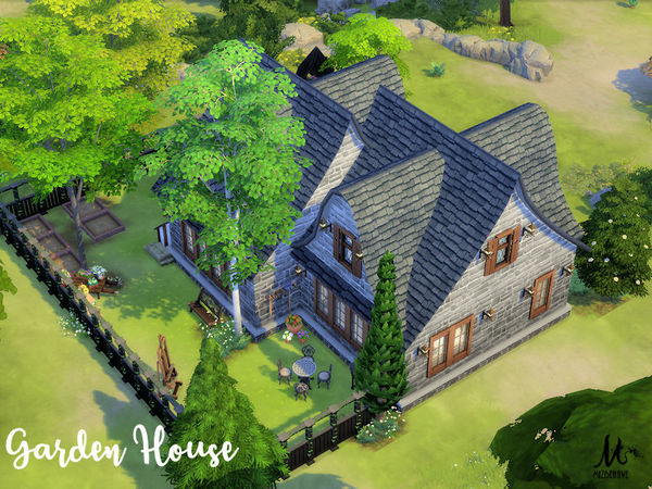 Garden House by MizBehave at TSR image 3014 Sims 4 Updates