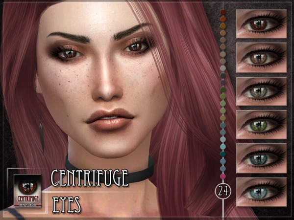 Centrifuge Eyes Default & Facepaint by RemusSirion at TSR image 3102 Sims 4 Updates