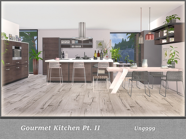 Gourmet Kitchen Pt. II by ung999 at TSR image 3104 Sims 4 Updates