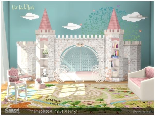 Princess Nursery by Severinka image 3106 Sims 4 Updates