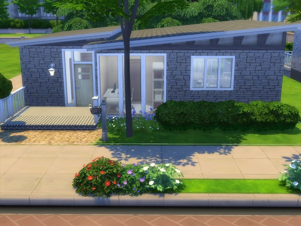 Oak Alcove home by buffyangel2000 at TSR image 3110 Sims 4 Updates