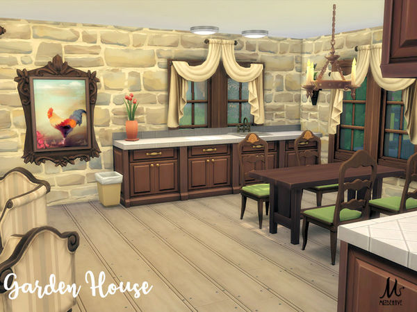 Garden House by MizBehave at TSR image 3113 Sims 4 Updates