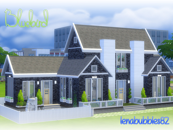 Bluebird house by lenabubbles82 at TSR image 3213 Sims 4 Updates