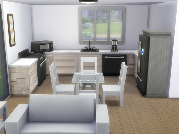 Oak Alcove home by buffyangel2000 at TSR image 3310 Sims 4 Updates