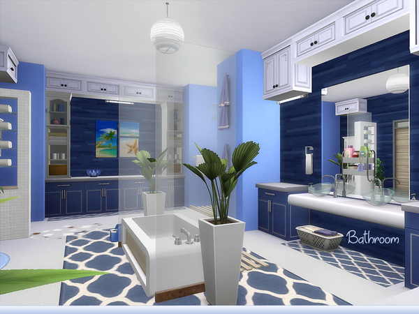 Bluebird house by lenabubbles82 at TSR image 3313 Sims 4 Updates