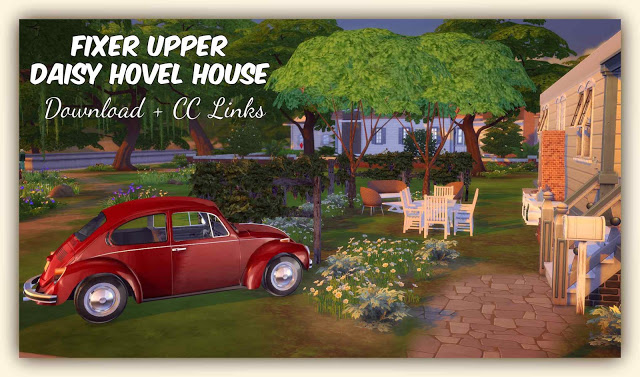 Fixer Upper Daisy Hovel House at Dinha Gamer image 3331 Sims 4 Updates