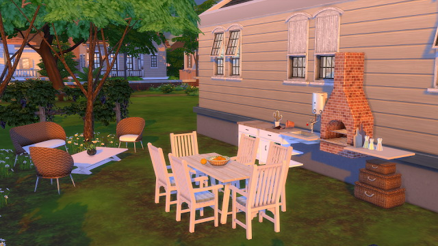 Fixer Upper Daisy Hovel House at Dinha Gamer image 336 Sims 4 Updates