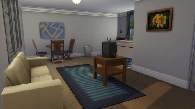 Sims 4 Starter Ranch Retreat from TS2 in TS4 by SnowieSimmer at Mod The Sims