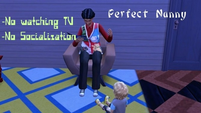 Perfect Nanny by Outburstt at Mod The Sims image  Sims 4 Updates