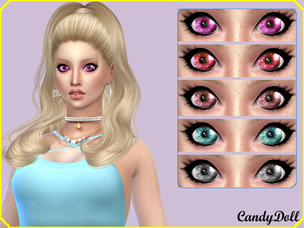 Sims 4 MoonBright Eyes by CandyDolluk at TSR