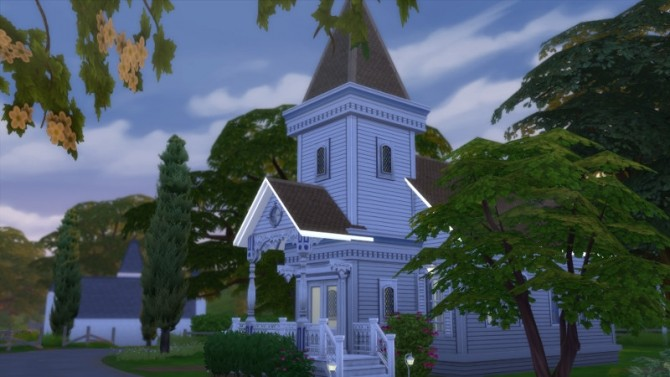 Laurel Lane Country Church DV by Christine at CC4Sims image 3611 670x377 Sims 4 Updates