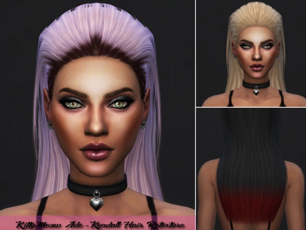 Ade Kendall Hair Retexture by Kitty.Meow at TSR image 3614 Sims 4 Updates