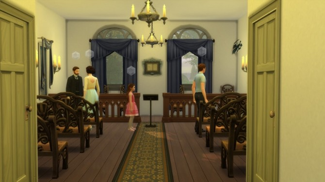 Laurel Lane Country Church DV by Christine at CC4Sims image 3621 670x377 Sims 4 Updates