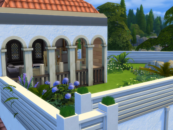 Sims 4 The Silent Villa by A3ON97 at TSR