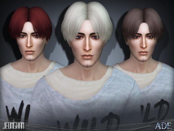 Jeonghan hair by Ade Darma at TSR image 3812 Sims 4 Updates