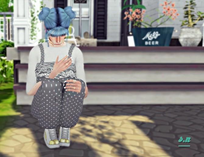 Sims 4 Goodbye my love poses at Simsnema