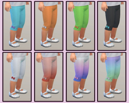 Sims 4 RC Toddler Colorful trousers at CappusSims4You