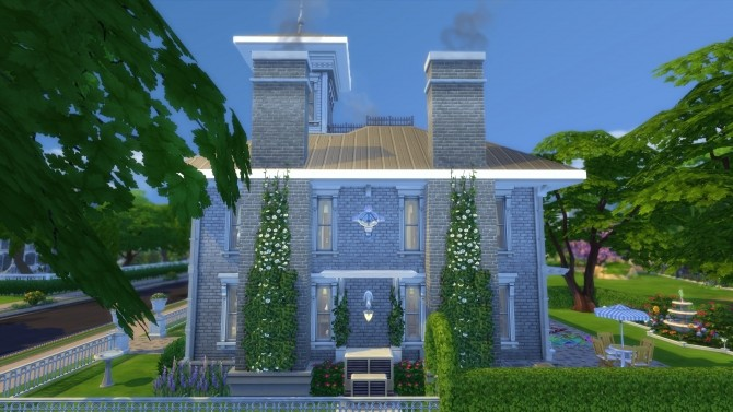 Sims 4 21 Byron St house by pollycranopolis at Mod The Sims
