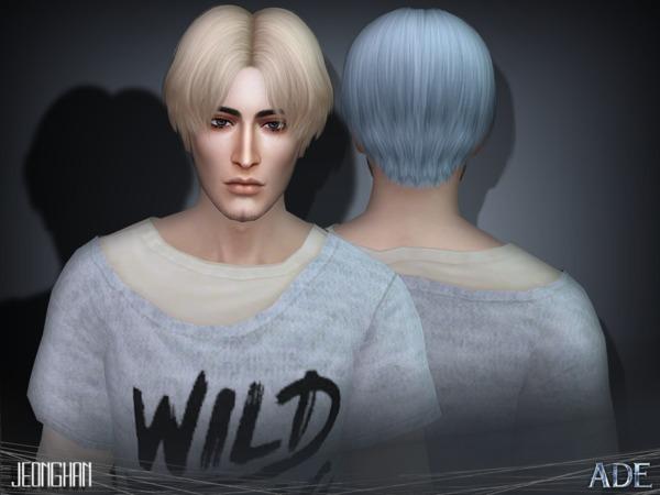 Jeonghan hair by Ade Darma at TSR image 3912 Sims 4 Updates