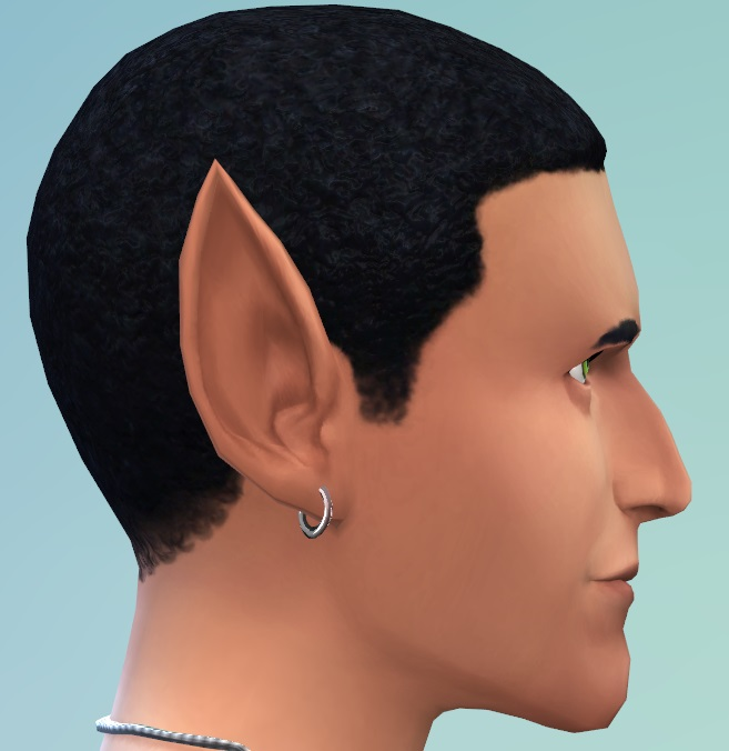 Pointed Ears As Cas Sliders By Cmarnyc At Mod The Sims